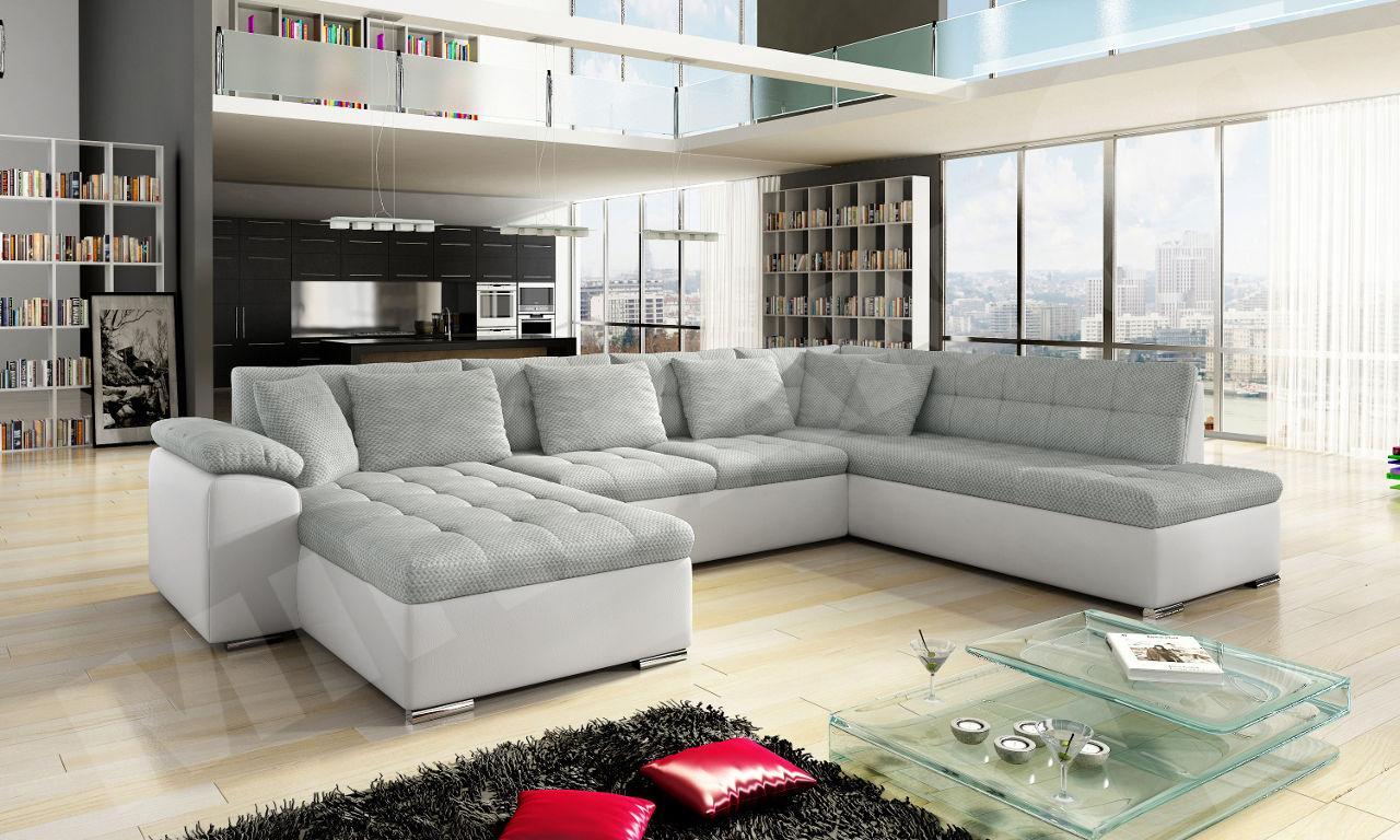 eckcouch niko smart mit schlaffunktion gro e farbauswahl. Black Bedroom Furniture Sets. Home Design Ideas